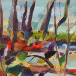 Study titled Water's Edge At Sallochy Study by Shona Barr