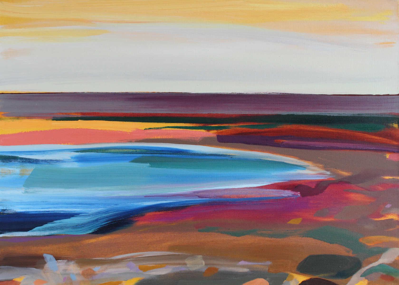 Seascape titled Blakeney by Shona Barr