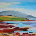 Painting titled South From Drigg