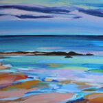 Painting titled Summer Beach
