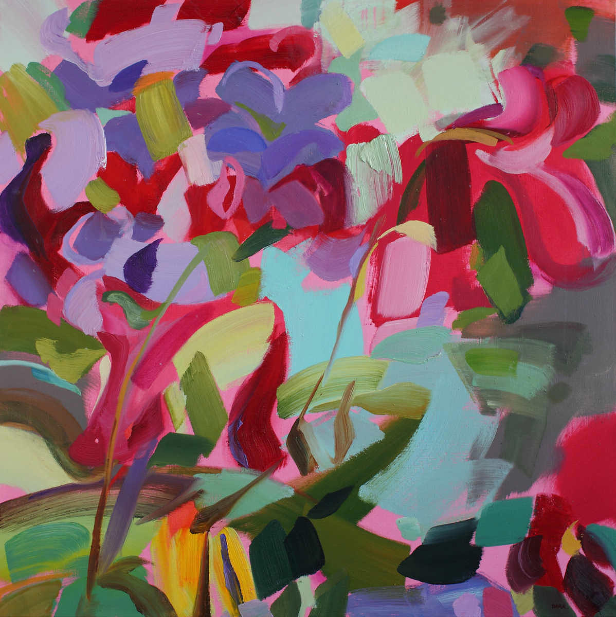 Painting titled Colours Of Spring